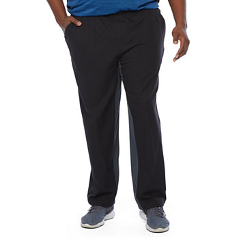 Msx By Michael Strahan Mens Mid Rise Quick Dry Regular Fit Workout Pant - Big and Tall