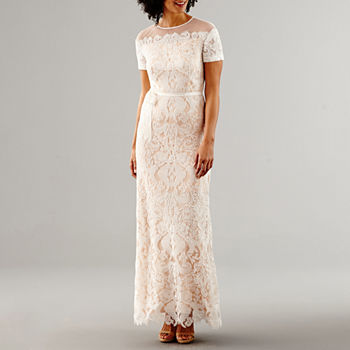 Evening Gowns White Dresses For Women Jcpenney,Short Pastel Pink Wedding Dress
