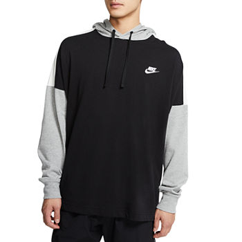 Nike Mens Hooded Neck Long Sleeve Hoodie