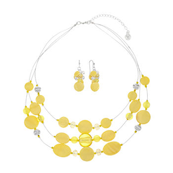Mixit 2-pc. Oval Jewelry Set