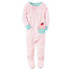 Carter's One Piece Footie Pajama-Baby Girls