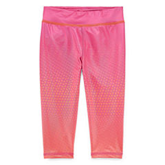 Reebok Knit Capri Leggings - Preschool Girls