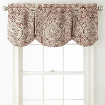 from valance bed insola in odyssey drapes beyond bath with buy curtains insulating waterfall grey window
