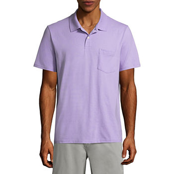 2194c5cd ... reduced polo shirts purple shirts for men jcpenney d7f98 14660