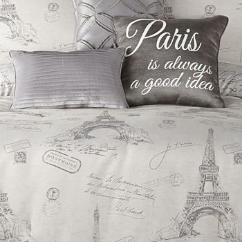 Silver Comforters Bedding Sets For Bed Bath Jcpenney