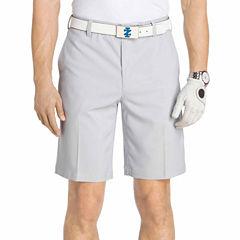 IZOD Golf Stretch Flat Front Short
