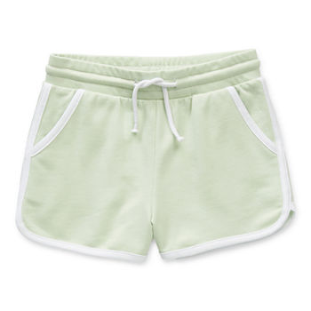 Okie Dokie Little Girls Pull-On Short