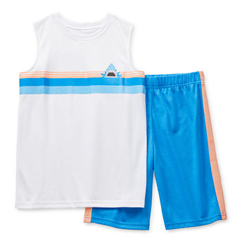 Arizona Little & Big Boys 2-pc. Shorts Pajama Set
