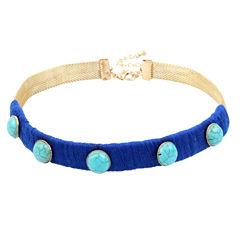 Bleu NYC Womens Choker Necklace