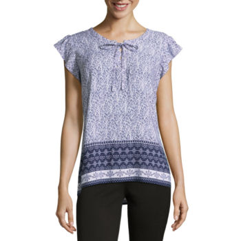 Misses Size Tops For Women Jcpenney