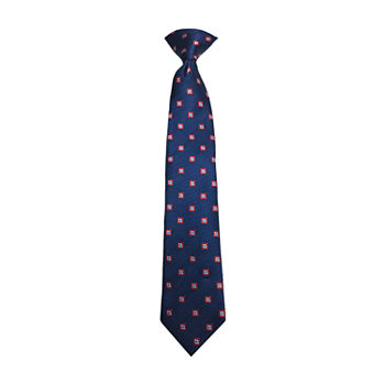 Little & Big Boys Dots Clip on Tie