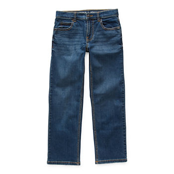 Arizona Flex Little & Big Boys Straight Original Fit Jean