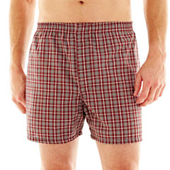 Stafford® 3-pk. Woven Blended Cotton Boxers