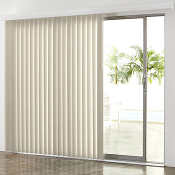 Vinyl Vertical Blinds White Shades For Window Jcpenney