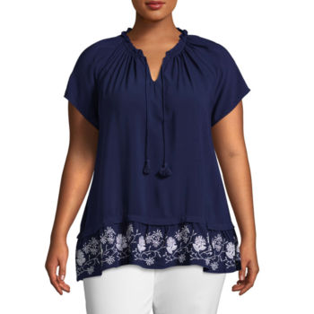 Jcpenney Plus Size Blouses The Blouse