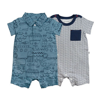 27f20b0b8 Rompers Baby Boy Clothes 0-24 Months for Baby - JCPenney