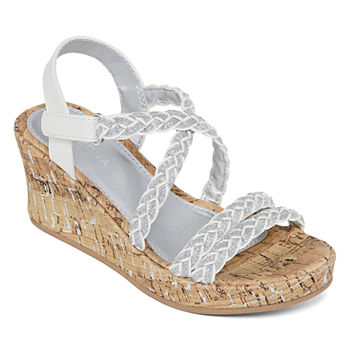 13d564f9f0b1 Girls Wedge Sandals All Sandals & Flip Flops for Shoes - JCPenney