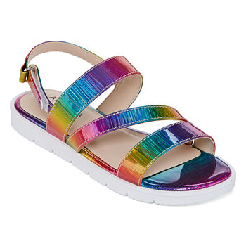 e565c72c7 Girls Flat Sandals All Casual Shoes for Shoes - JCPenney
