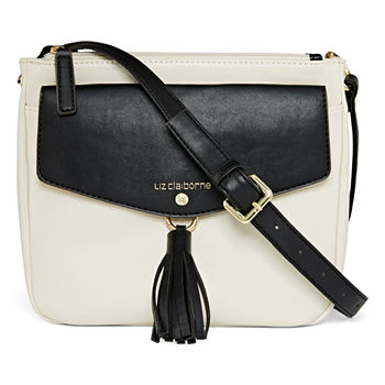 d6a05b2f21 Liz Claiborne Idol Crossbody Bag · (1). Add To Cart. Only at JCP. White  Black