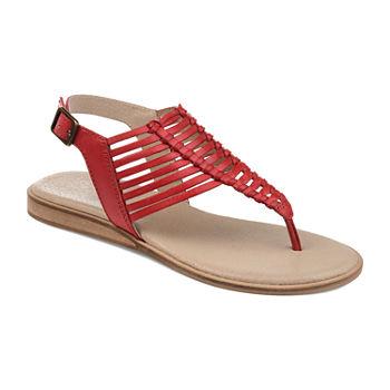Davis Strap Sandals Js Signature Journee Womens T Flat 53j4RALq