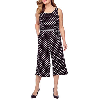 73b7bfa10dde Petites Size Black Jumpsuits   Rompers for Women - JCPenney