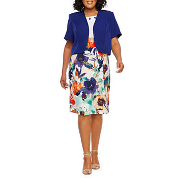 9898fea4e93 Maya Brooke Plus Size Dresses for Women - JCPenney