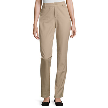 St. John's Bay-Tall Regular Fit Straight Trouser