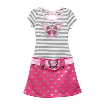 782c14afda9b4 Lilt Drop Waist Dresses Shop All Girls for Kids - JCPenney