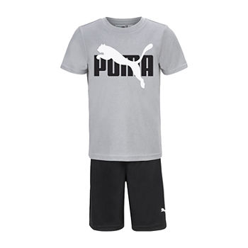 Puma Little Boys 2-pc. Short Set