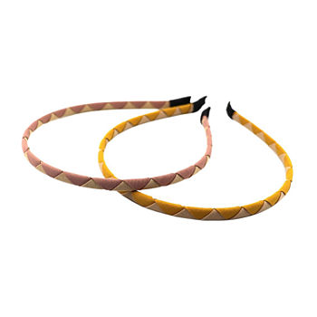 Mixit Pink And Yellow 2-pc. Headband
