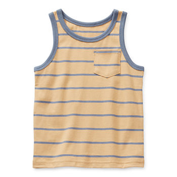 Okie Dokie Toddler Boys Crew Neck Tank Top
