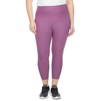 Xersion Womens High Rise 7/8 Ankle Leggings Plus