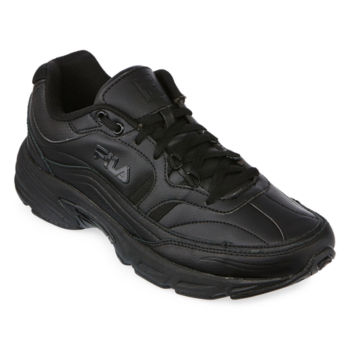 Slip Resistant Black Men S Work Shoes For Shoes Jcpenney