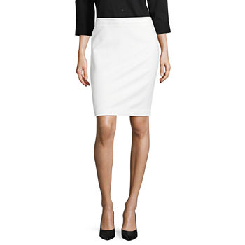 62880836dd5701 Knee Length White Skirts for Women - JCPenney