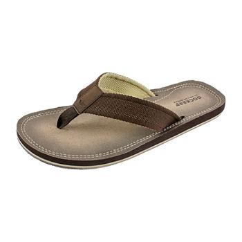 15087b16ed12b4 Brown Men s Sandals   Flip Flops for Shoes - JCPenney