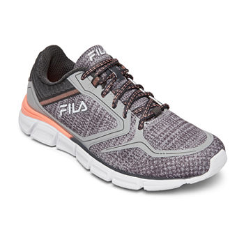 853bb77494228 Fila Gray Women s Athletic Shoes for Shoes - JCPenney