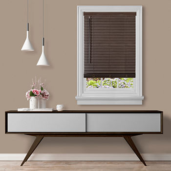 "Gii Madera Falsa 2"" Cordless Faux Wood Blinds"