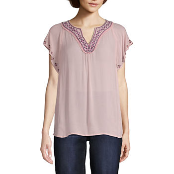 6da70e7aa9fc68 ... Short Sleeve Peasant Top · (8). Add To Cart. Only at JCP