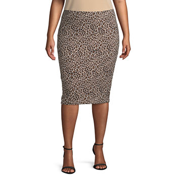 c5e57432a3fd0 Plus Size Skirts for Women - JCPenney