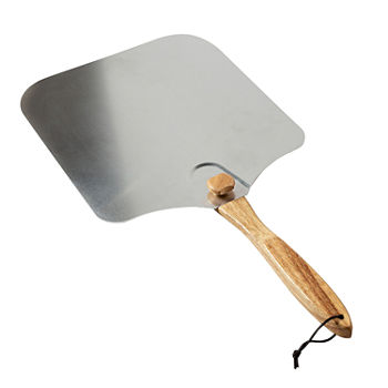 "Honey-Can-Do 16"" Folding Pizza Peel With Handle Natural"