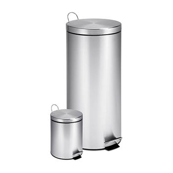 Honey-Can-Do 2-pc. Trash Can