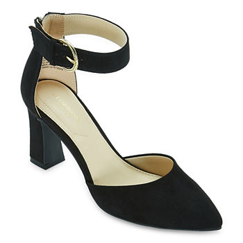 Liz Claiborne Womens Houston Pumps Block Heel