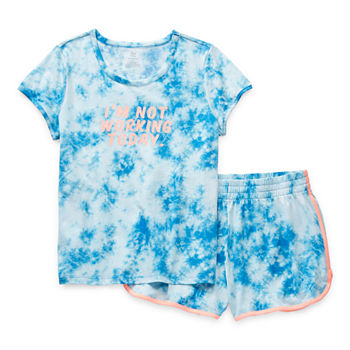 Sleep Chic Mommy & Me Womens 2-pc. Shorts Pajama Set