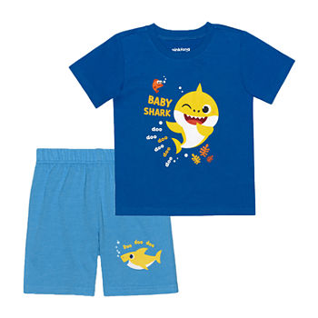 Nickelodeon Toddler Boys 2-pc. Baby Shark Short Set