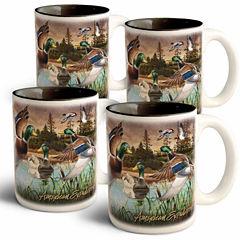 American Expedition Mallard Mugs 4pc