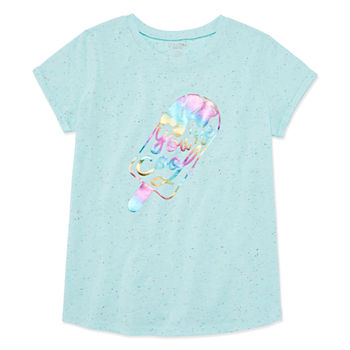 b8eefeea Girls Graphic Tees for Kids - JCPenney