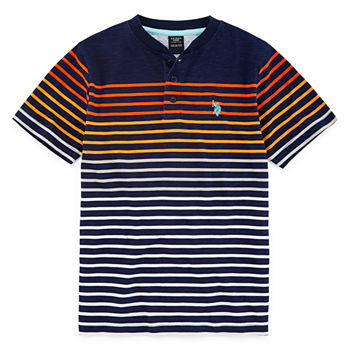 7cbb7d94 U.s. Polo Assn. Shirts + Tops Shop All Boys for Kids - JCPenney