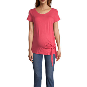 87c3ea790f Maternity Size Tops for Women - JCPenney