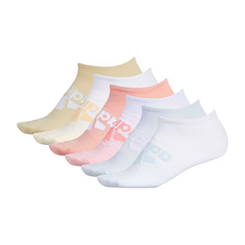 adidas Superlite Badge Of Sport 6 Pair No Show Socks -Womens
