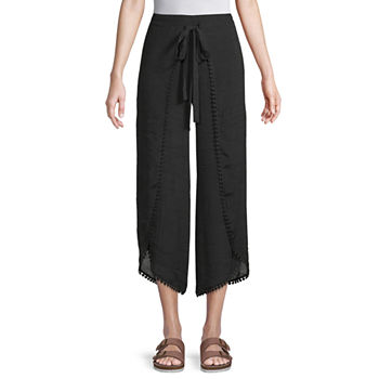 Byer California Mid Rise Juniors Cropped Pants